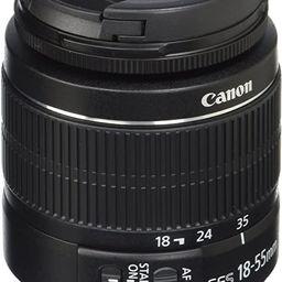 Canon EF-S 18-55mm f/3.5-5.6 IS II SLR Lens | Amazon (US)
