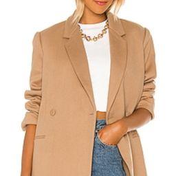 ANINE BING Kaia Blazer in Camel from Revolve.com   Revolve Clothing (Global)