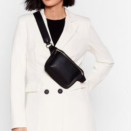 WANT Drop Zip Low Faux Leather Fanny Pack | NastyGal (US & CA)