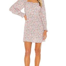 FAITHFULL THE BRAND Ira Mini Dress in Pink Vionette Floral from Revolve.com   Revolve Clothing (Global)