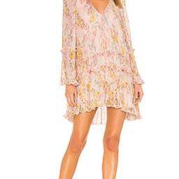 Tularosa Evelyn Dress in Lt Rose Floral from Revolve.com   Revolve Clothing (Global)
