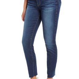 Ellie Raw Hem High Waist Skinny Jeans | Nordstrom