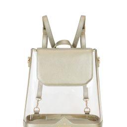 Clear BYOBackpack in Moon   Kelly Wynne Handbags