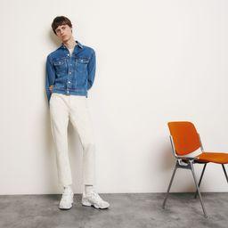 Classic faded denim jacket | Sandro Paris (US)