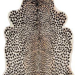 "Erin Gates by Momeni Acadia Cheetah Multi Faux Hide Area Rug 5'3"" X 7'10"" | Amazon (US)"