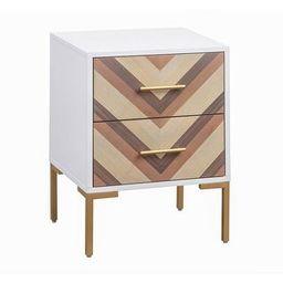 Quinn Side Table (White) | Overstock