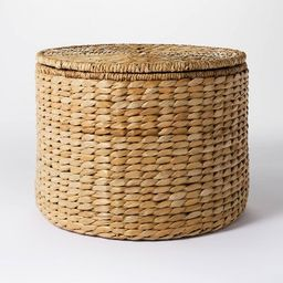 Woven Storage Ottoman Natural - Threshold™ designed with Studio McGee   Target