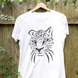 Love Fashion Leopard Graphic T-shirt   Etsy (US)