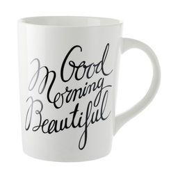 Good Morning Beautiful Mug   Indigo (CA)