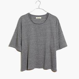 Marled Sweatshirt Tee | Madewell