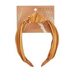 scunci Turban Knotted Headband - Mustard | Target