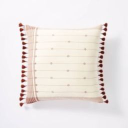 Dobby Striped Throw Pillow - Threshold™ designed with Studio McGee | Target