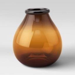 Glass Vase Dark Orange - Threshold™ | Target