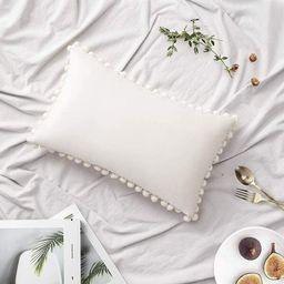 Lamendola Pom Square Velvet Throw Pillow Cover | Wayfair North America