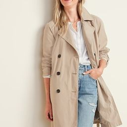 Water-Resistant Trench Coat for Women | Old Navy (US)