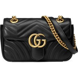 Mini GG 2.0 Matelassé Leather Shoulder Bag | Nordstrom