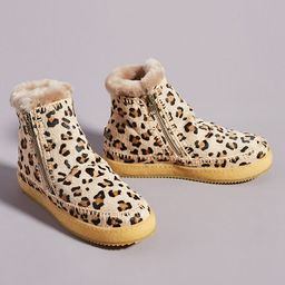 Laidback London Leopard Setsu Ankle Boots   Anthropologie (US)