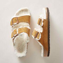 arizona shearling sandals   Sundance Catalog