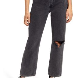 Chicago Ripped Knee High Waist Dad Jeans   Nordstrom