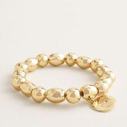 Shine Gold-Tone Medallion Stretch Bracelet | Chico's