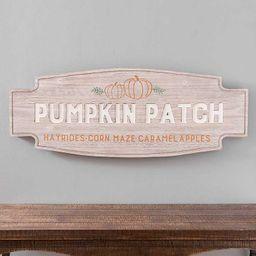 Wooden Pumpkin Patch Wall Plaque | Kirkland's Home