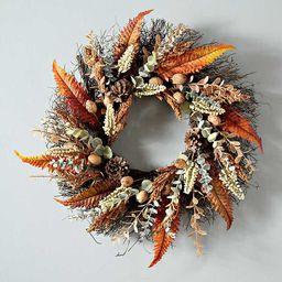 Fern and Wheat Mix Wreath | Kirkland's Home