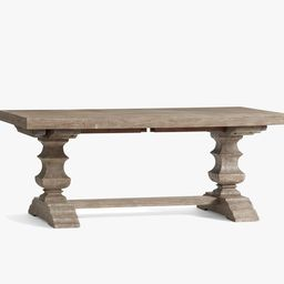 Banks Extending Dining Table - Gray Wash | Pottery Barn (US)
