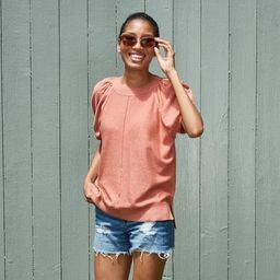 Women's Short Sleeve Crewneck Pullover Sweater - Universal Thread™ | Target