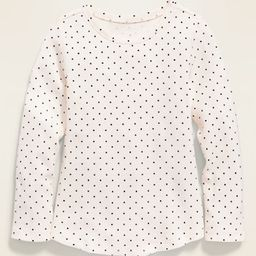 Printed Thermal Scoop-Neck Tee for Toddler Girls | Old Navy (US)
