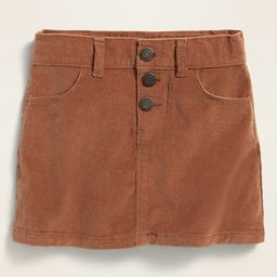 Corduroy Snap-Fly Skirt for Toddler Girls | Old Navy (US)