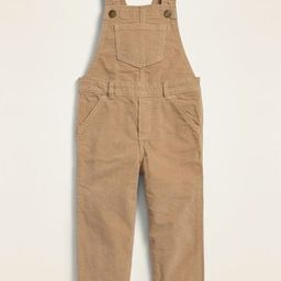Unisex Corduroy Overalls for Toddler | Old Navy (US)