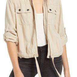 Linen Blend Field Jacket | Nordstrom