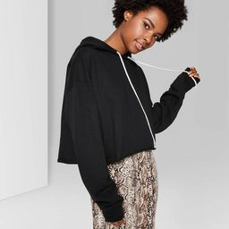 Women's Cropped Hoodie - Wild Fable™   Target