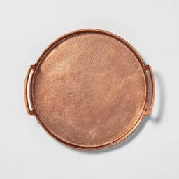 Antique Finish Decor Tray Copper - Hearth & Hand™ with Magnolia   Target