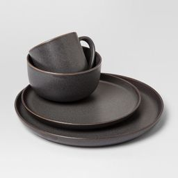16pc Stoneware Tilley Dinnerware Set Brown - Project 62™ | Target