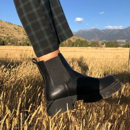 UO Mira Chunky Chelsea Boot | Urban Outfitters (US and RoW)