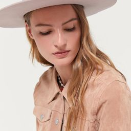 UO Flat Brim Felt Fedora   Urban Outfitters (US and RoW)