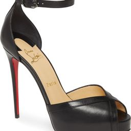 Very Cathy Ankle Strap Peep Toe Pump | Nordstrom