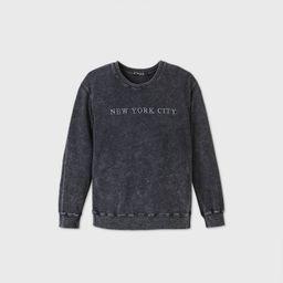 Women's New York City Graphic Sweatshirt - Gray | Target