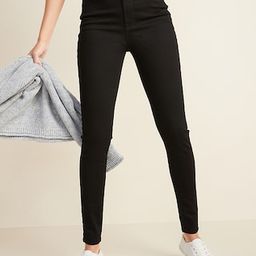 High-Waisted Built-In Sculpt Never-Fade Rockstar Jeans For Women | Old Navy (US)