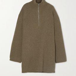 Tomar Pullover aus einer gerippten Wollmischung mit Stehkragen   Net-a-Porter (Global excpt. US)