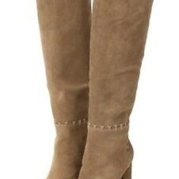 Tory Burch Boots Contraire Whipstitch Knee High Tall Tan 5.5 6.5 8 9 $525 DEFECT | eBay US