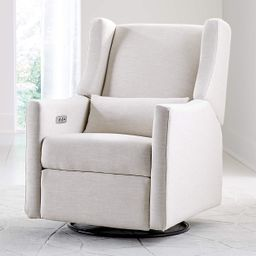 Babyletto Kiwi Power Recliner Glider + Reviews | Crate and Barrel | Crate & Barrel