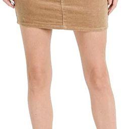 Love Moda Women's Fashion Classic Corduroy Mini Skirt with Spandex | Amazon (US)