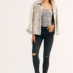 Goldie High-Rise Skinny Jeans   Free People (US)