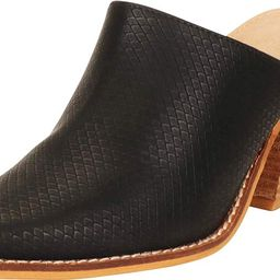 Cambridge Select Women's Slip-On Pointed Toe Stacked Chunky Block Heel Mule | Amazon (US)