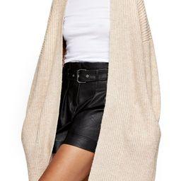 Topshop Ribbed Open Front Cardigan (Regular & Petite) | Nordstrom | Nordstrom