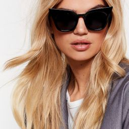 We See Your Point Tinted Cat-Eye Sunglasses | NastyGal (US & CA)