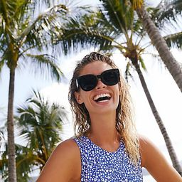 Matera Modern Sunglasses by Free People, Black, One Size   Free People (US)