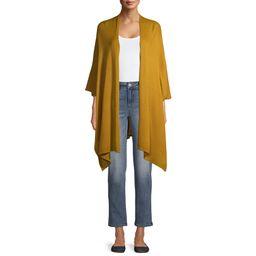 Time And Tru Tt Solid Knit Kimono   Walmart (US)